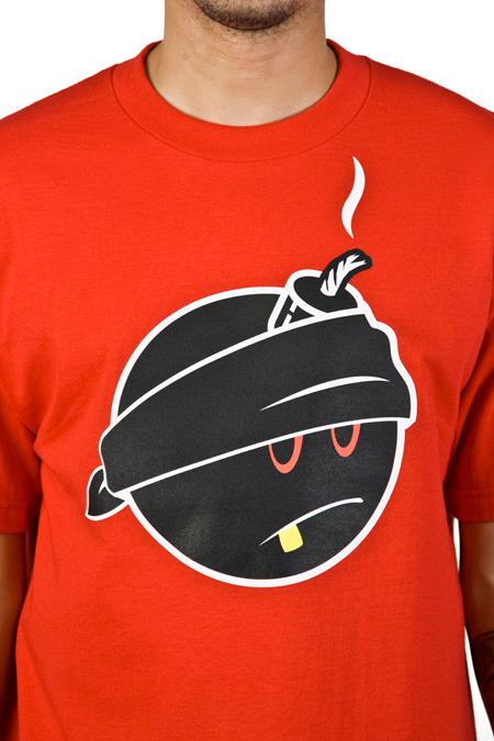 Hundreds Bomb Logo http://www.thecommercialmix.com/2009/12/tees-hundreds-badam-tee-32.html