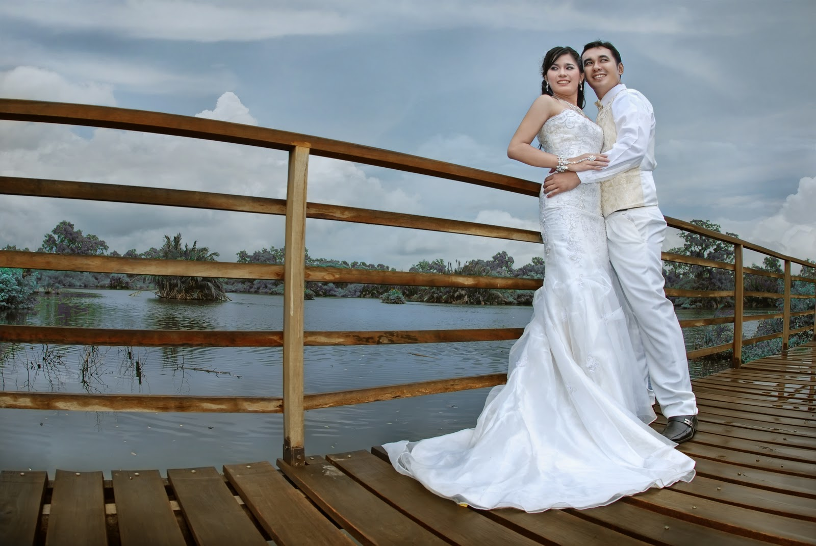 Editing Album: Contoh Album Kolase Pre Wedding