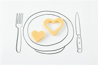 [heart+cheese]