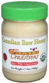 TROPICAL TRADITIONS CANADIAN RAW HONEY-10/11