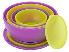 ZAK! DESIGNS- MELLOW 8PC MIXING BOWL SET-11/1