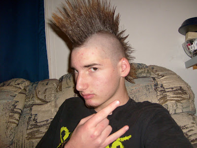 Pictures of Cool Men Haircuts presents Punk Rock Hairstyles and Mohawk