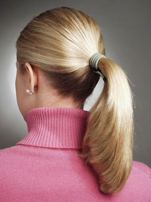 Ponytail Hairstyles For Medium to Long Hair