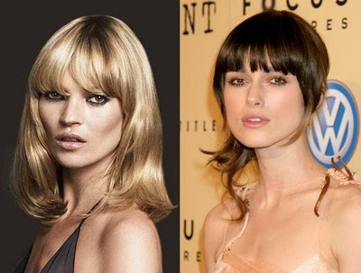 short fringe hairstyle. Short hairstyle – 2009 2010 Long Fringe Haircuts Trends
