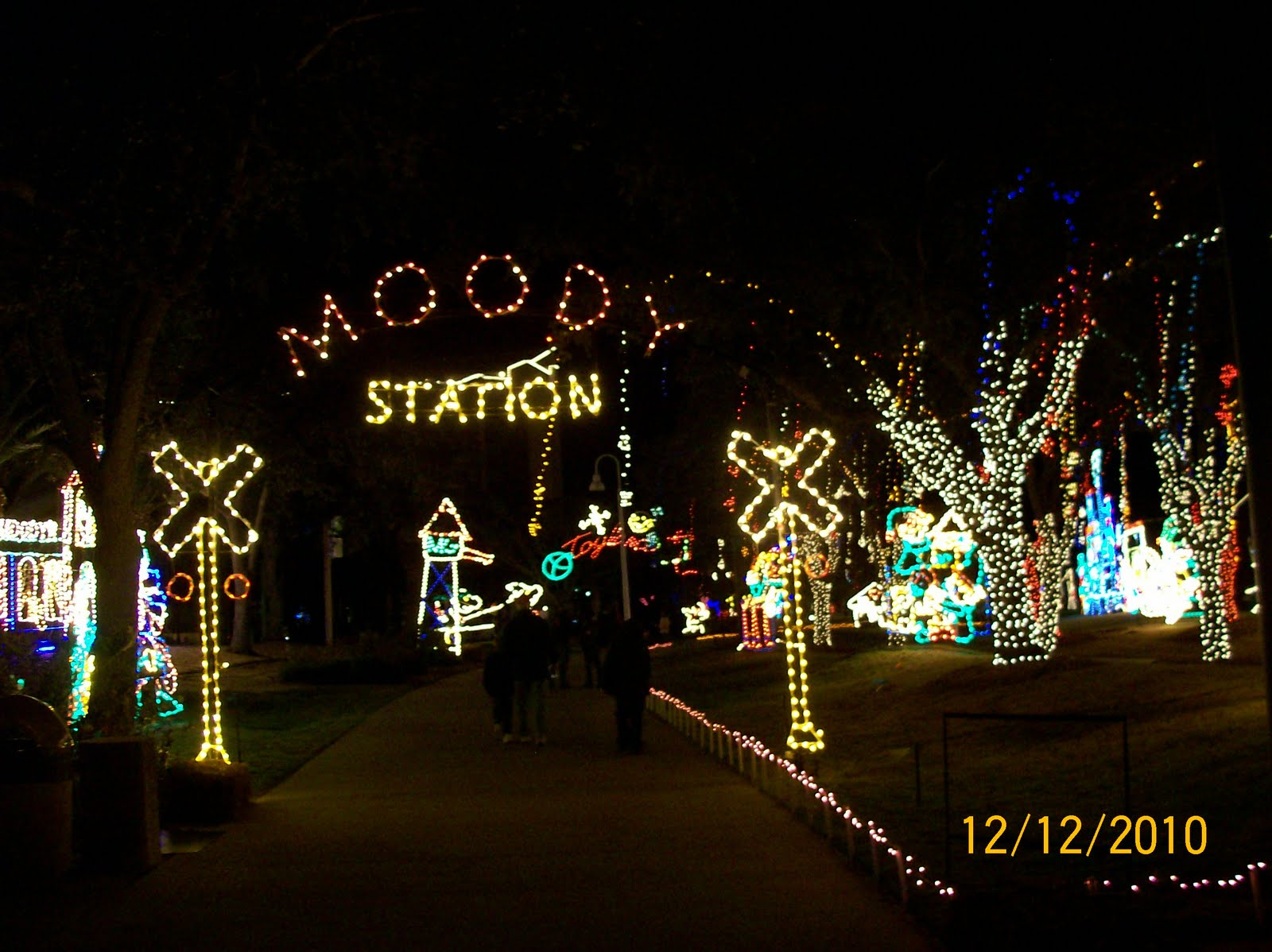 The Youngs Moody Gardens Festival Of Lights