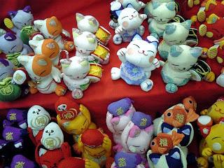 chirimen cat dolls