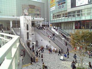 south east exit of shinjuku station