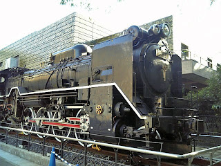 D51 steam locomotion