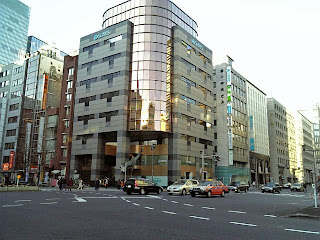 crossing of chuo-dori and yaesu-dori