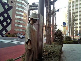 crossing of chuo-dori and kuramae-bashi-dori