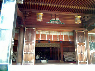 main shrine of yushima tenjin