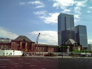 marunouchi side of tokyo station