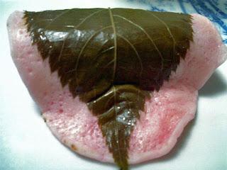sakura mochi (chomeiji mochi)