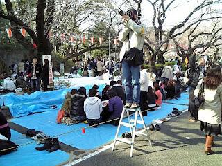 cameraman in ueno park