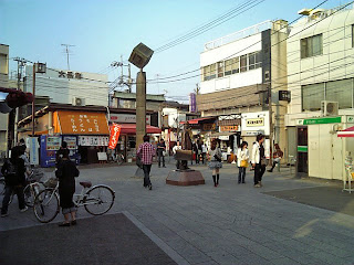 in front of shibamata station