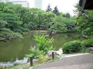 Kumogata-pond in hibiya park
