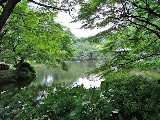 Kumogata-pond in hibiya park