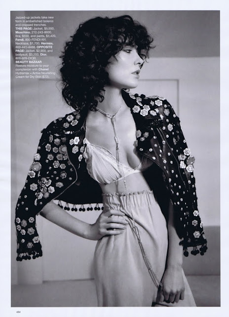 shalom harlow weight. Shalom Harlow in Harper#39;s