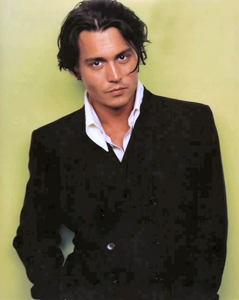 johnny depp hair. Johnny Depp Short Hair. the