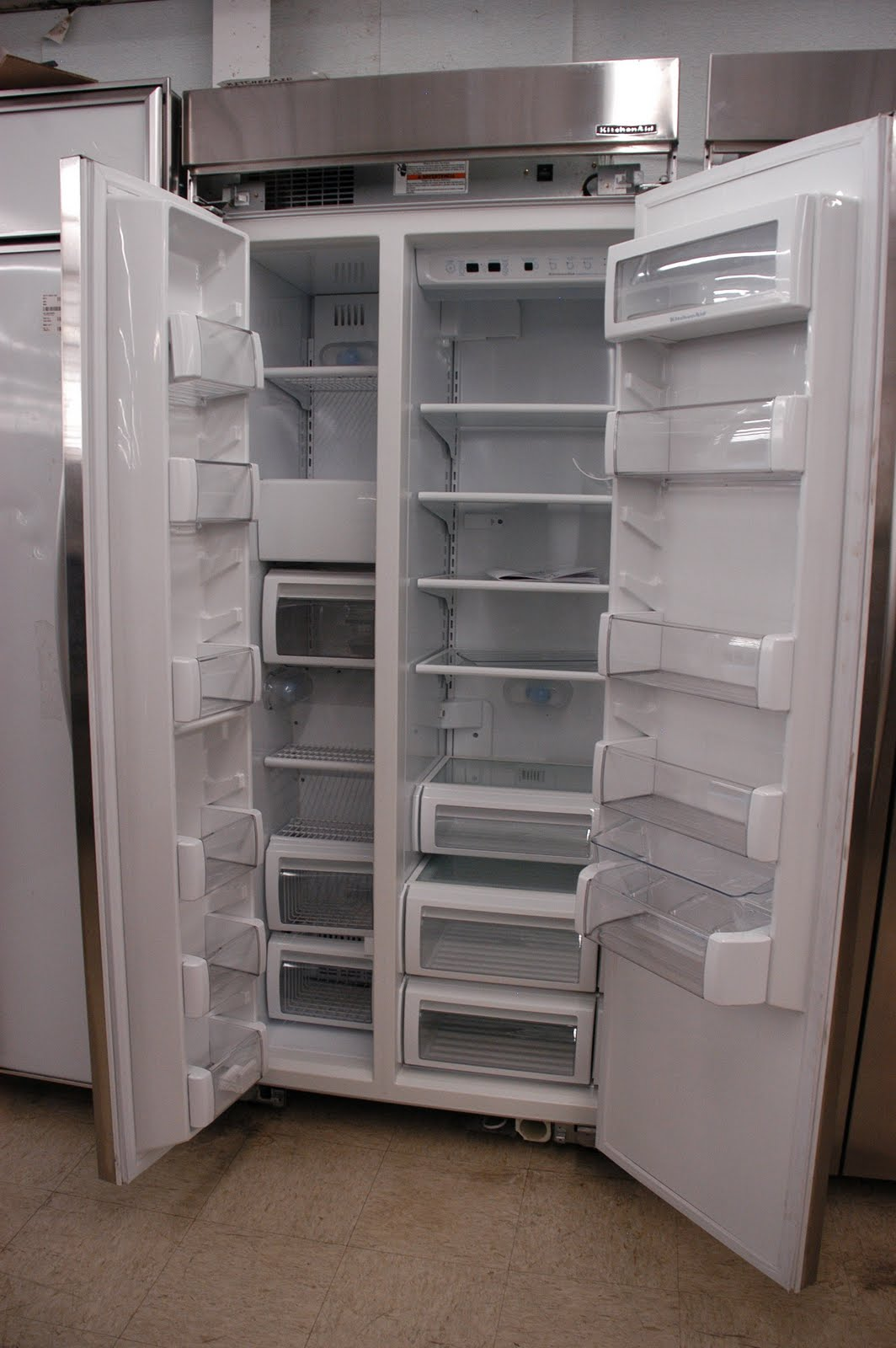 Kitchenaid Refrigerator Side By Side appliance direct video blog: kitchenaid stainless steel 20.9 cu