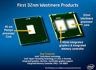 first 32nm westmere product
