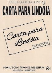 Carta Para Lindóia, Cordel nº 90. Janeiro/2010