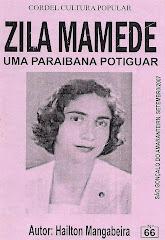 Cordel: Zila Mamede, Uma Paraibana Potiguar, nº 66. Setembro/2007