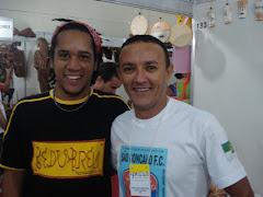 Hailton Mangabeira e Dinei do PEDUBREU na FIART 2008