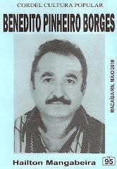 Cordel: Benedito Pinheiro Borges, Nº 95. Maio/2010