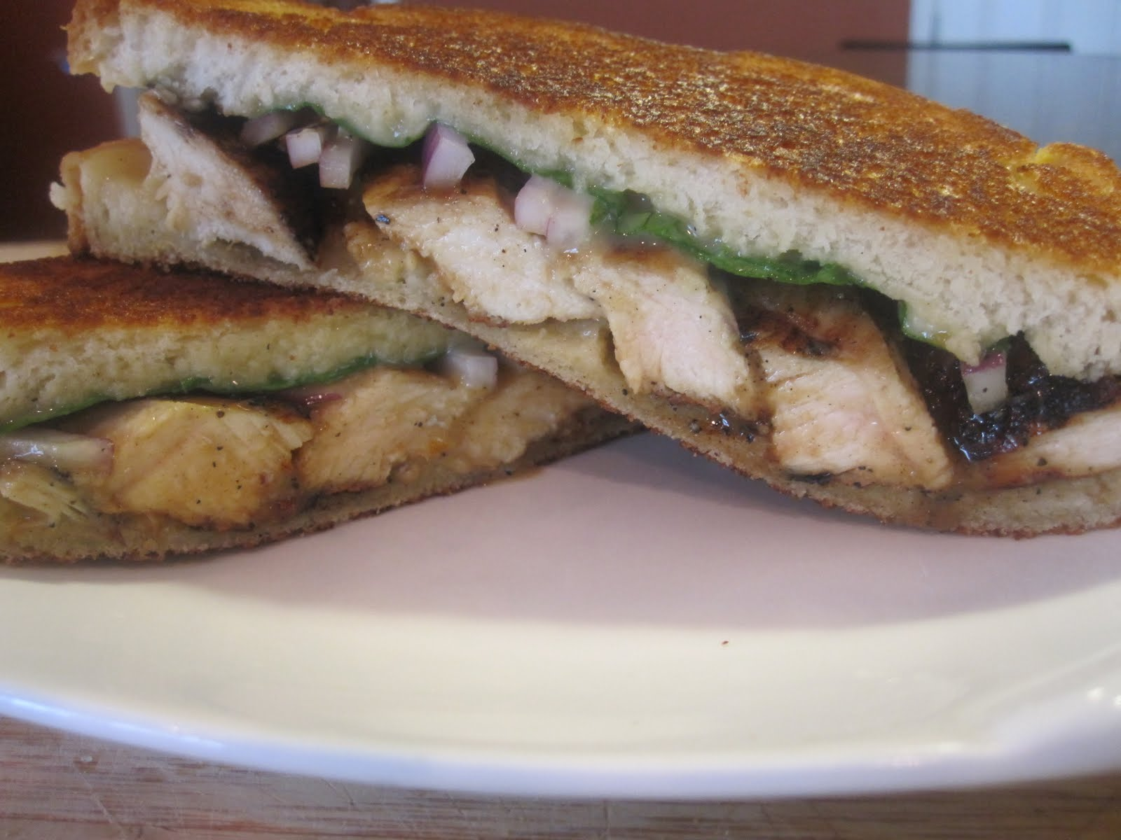 ... Soup and Pioneer Woman's Grilled Chicken Sandwich with Apricot Sauce