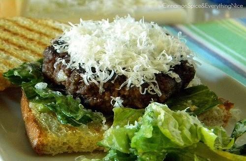 the Pot: Burger Club Roundup: Caesar Salad and Flank Steak Burgers ...