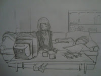 desenhe e publique ilustração