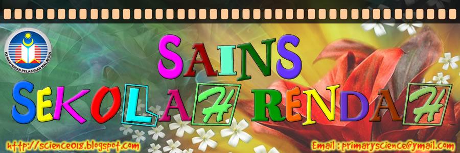 SAINS SEKOLAH RENDAH