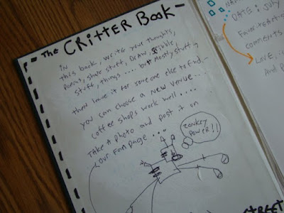 ian sands critter book