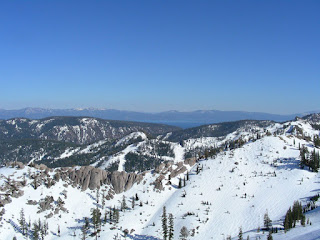 Lake Tahoe and Squaw Valley