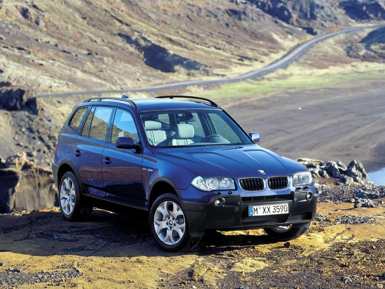 BMW - Auto twenty-first century: 2004 BMW X3 3.0i