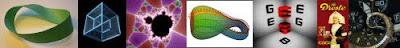 Mobius Strip, Tesseract, Fractals, Klein Bottle, GEB, Droste, Rewind
