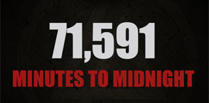 71,591 Minutes to Midnight