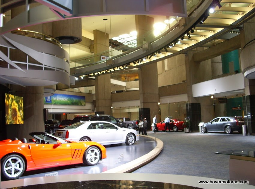 Hover motor company the rennaisance center gm 39 s awe for Ford motor company corporate office