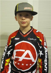 Joshua when he was racing BMX