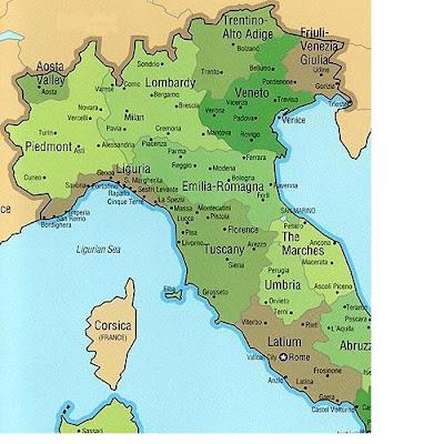 torino italy map. Siena, Cinque Terre, Turin