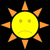 frowning sun