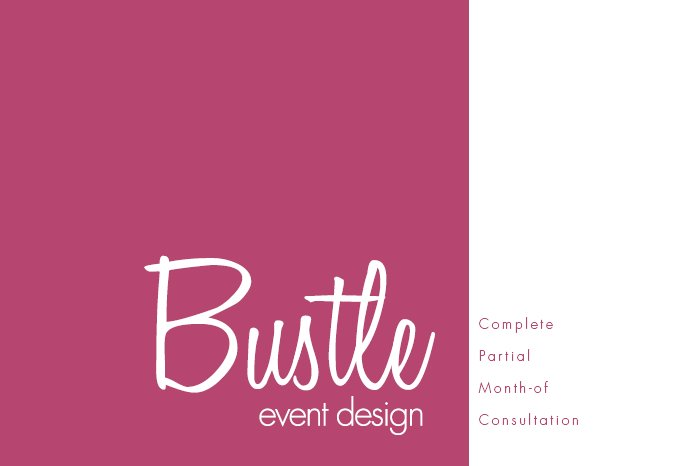 Bustle Event Design