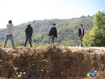 Students of St Xaviers College Maitighar Kathmandu