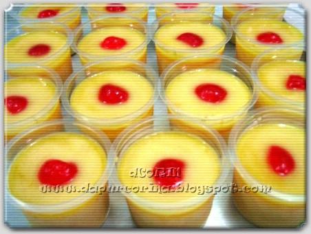 Pudding Sutra Buah Mangga