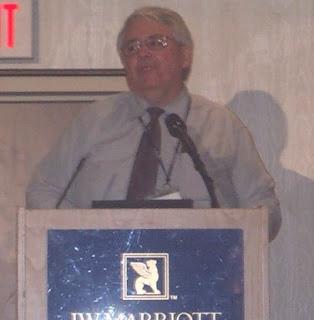 Dr. Michael McElvaine at AVMA Diversity Symposium