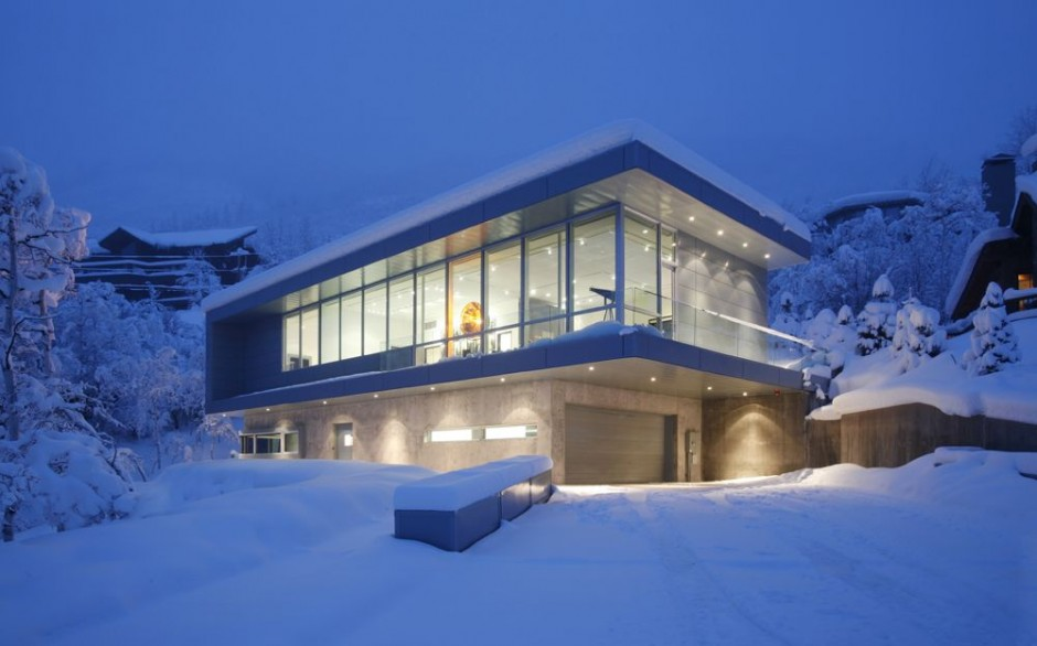 The scholl residence in aspen colorado usa most for The beautiful house in world
