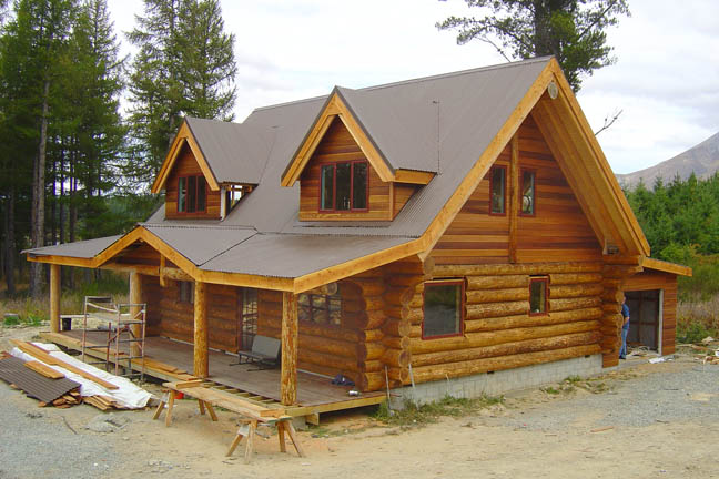 Most beautiful houses in the world natural log homes new for Beautiful natural houses