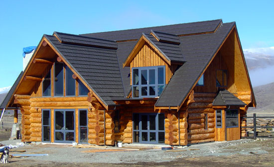 Natural Log Homes New Zealand Home Arsitektur