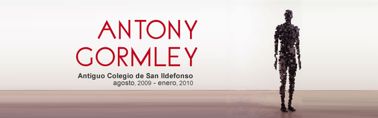 Antony Gormley en San Ildefonso